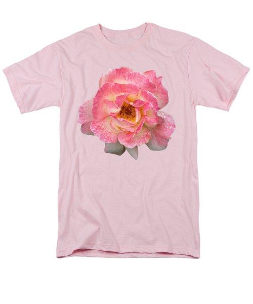 Vintage Rose Square Men's T-Shirt  (Regular Fit) by Gill Billington