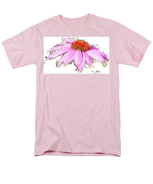 Wild Flower Three Men's T-Shirt  (Regular Fit) by Heidi Smith