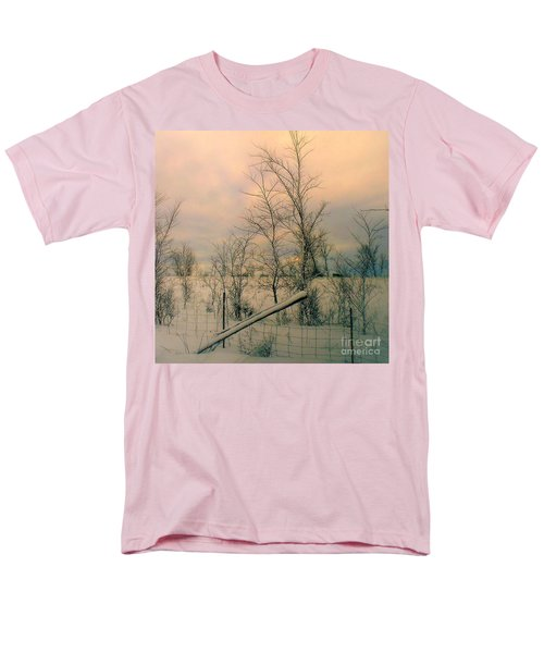 Winter's Face Men's T-Shirt  (Regular Fit) by Elfriede Fulda