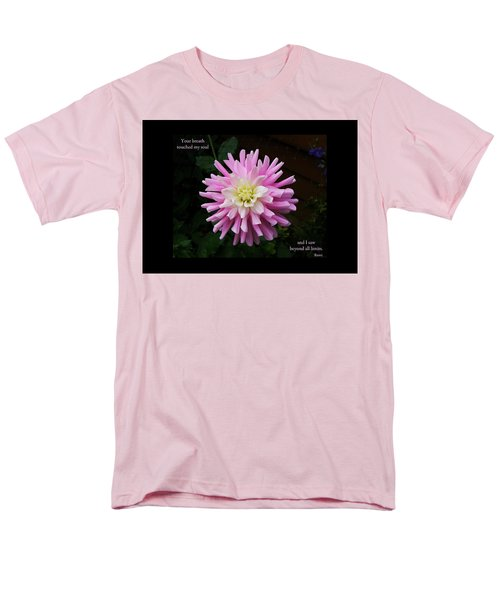 Your Breath Touched My Soul Men's T-Shirt  (Regular Fit) by Rhonda McDougall