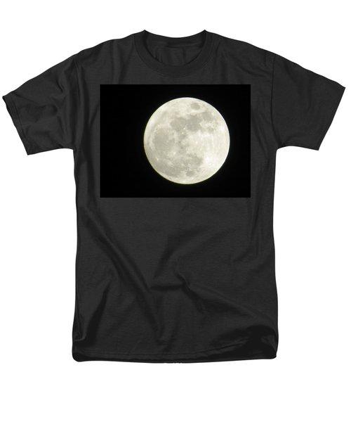 A Winter'sfullmoon Over Ga Men's T-Shirt  (Regular Fit) by Aaron Martens