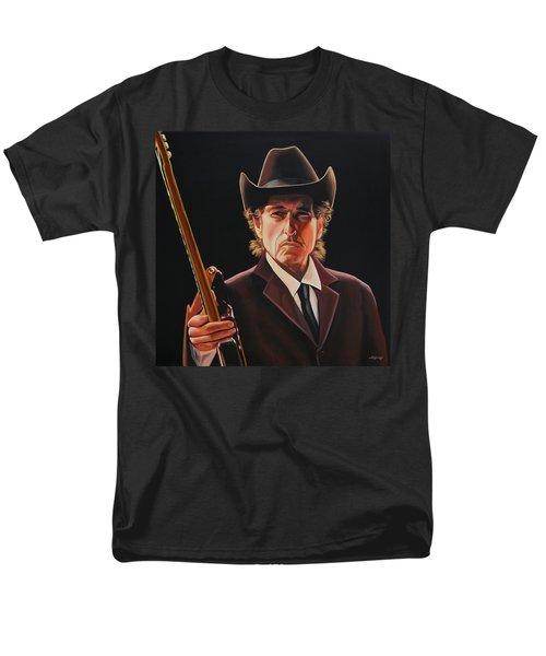 Bob Dylan 2 Men's T-Shirt  (Regular Fit) by Paul Meijering