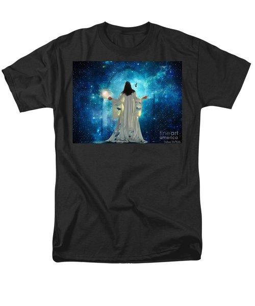 Heavens Door Men's T-Shirt  (Regular Fit) by Dolores Develde