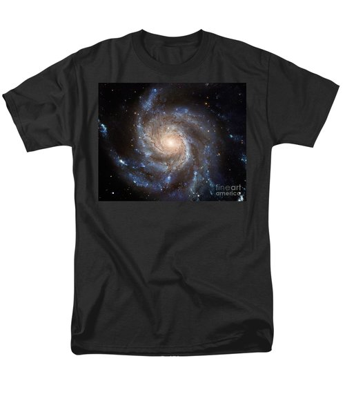 Messier 101 Men's T-Shirt  (Regular Fit) by Barbara McMahon