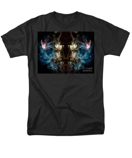 Minotaur Smoke Abstract Men's T-Shirt  (Regular Fit) by Edward Fielding