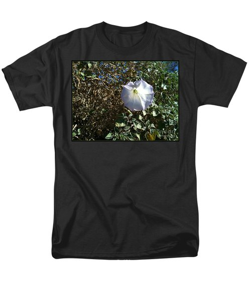Sacred Datura Men's T-Shirt  (Regular Fit) by Angela J Wright