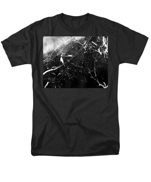 Men's T-Shirt  (Regular Fit) featuring the photograph  Spidernet by Yulia Kazansky