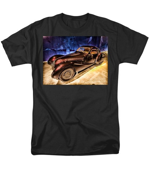 Men's T-Shirt  (Regular Fit) featuring the photograph  Talbot Lago 1937 Car Automobile Hdr Vehicle  by Paul Fearn