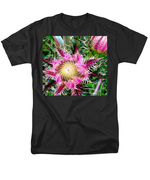 Texas Thistles Men's T-Shirt  (Regular Fit) by Antonia Citrino