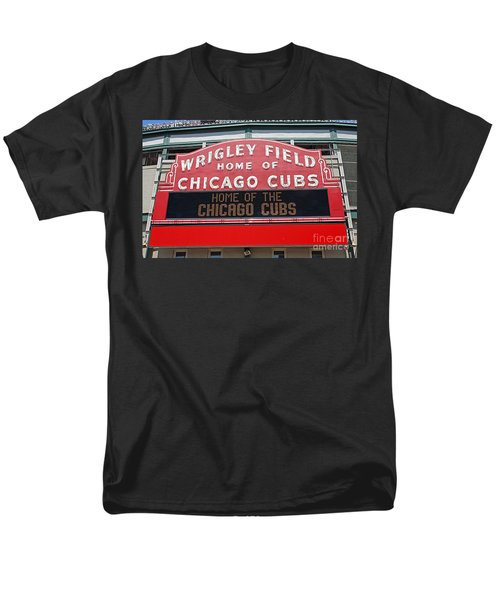 0334 Wrigley Field Men's T-Shirt  (Regular Fit) by Steve Sturgill
