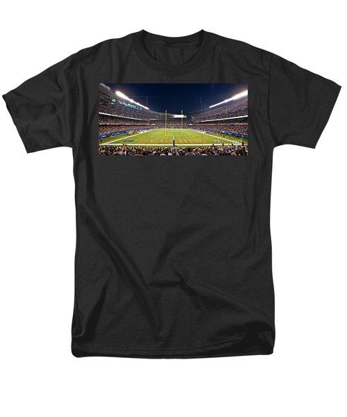 0587 Soldier Field Chicago Men's T-Shirt  (Regular Fit) by Steve Sturgill