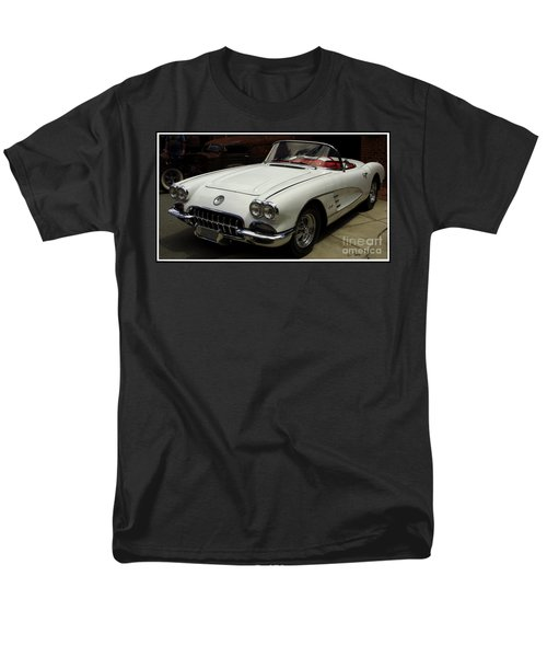 Men's T-Shirt  (Regular Fit) featuring the photograph 1958 Chevrolet Corvette by James C Thomas