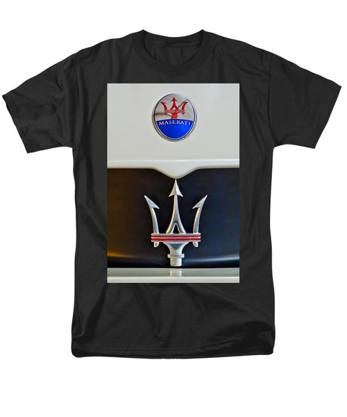 2005 Maserati Mc12 Hood Emblem Men's T-Shirt  (Regular Fit) by Jill Reger