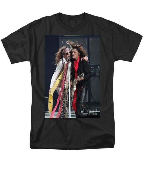 Aerosmith Men's T-Shirt  (Regular Fit) by Concert Photos