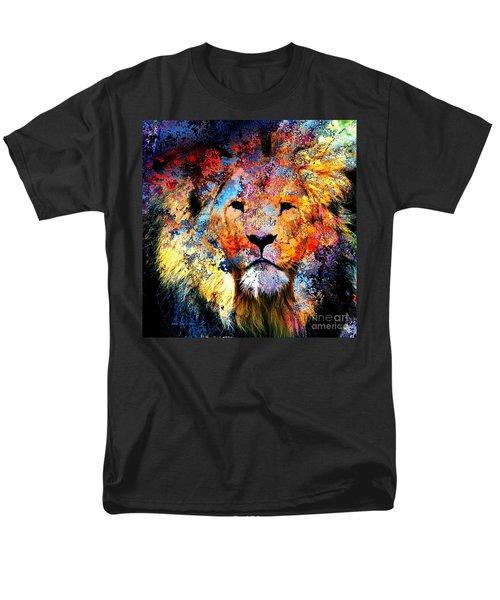 Ancient Lion King Men's T-Shirt  (Regular Fit) by Annie Zeno