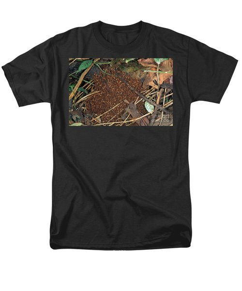 Army Ant Bivouac Site Men's T-Shirt  (Regular Fit) by Gregory G. Dimijian, M.D.