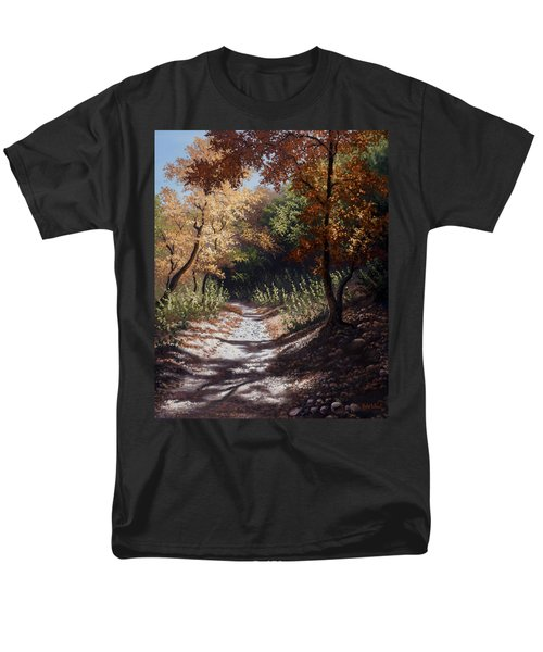 Autumn Trails Men's T-Shirt  (Regular Fit) by Kyle Wood