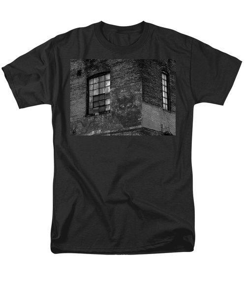 Black Kat Men's T-Shirt  (Regular Fit) by Robert Geary