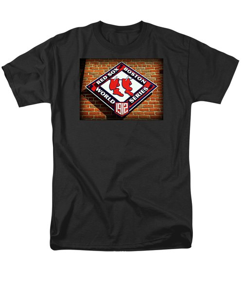 Boston Red Sox 1912 World Champions Men's T-Shirt  (Regular Fit) by Stephen Stookey