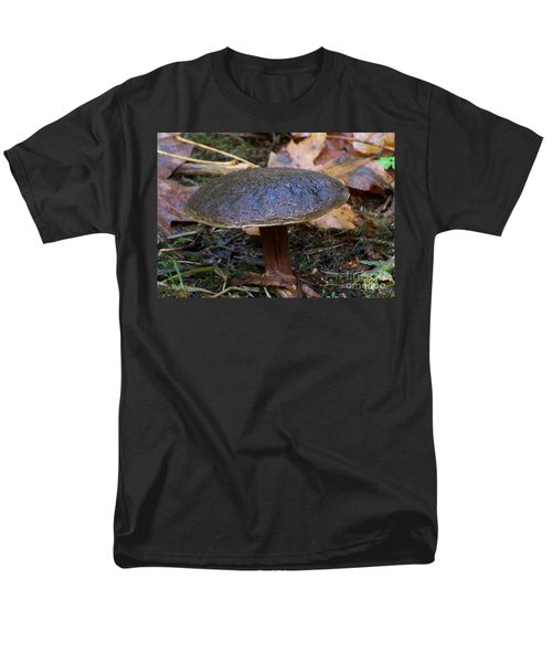 Men's T-Shirt  (Regular Fit) featuring the photograph Brown Toadstool by Chalet Roome-Rigdon