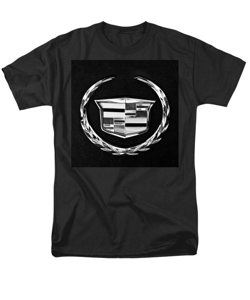 Cadillac Emblem Men's T-Shirt  (Regular Fit) by Jill Reger