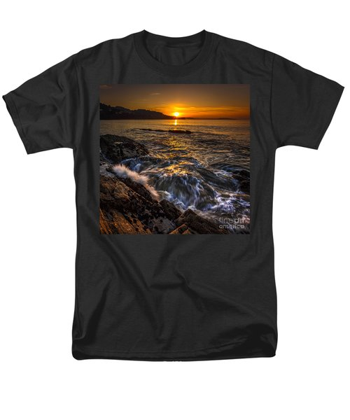 Chamoso Point In Ares Estuary Galicia Spain Men's T-Shirt  (Regular Fit) by Pablo Avanzini