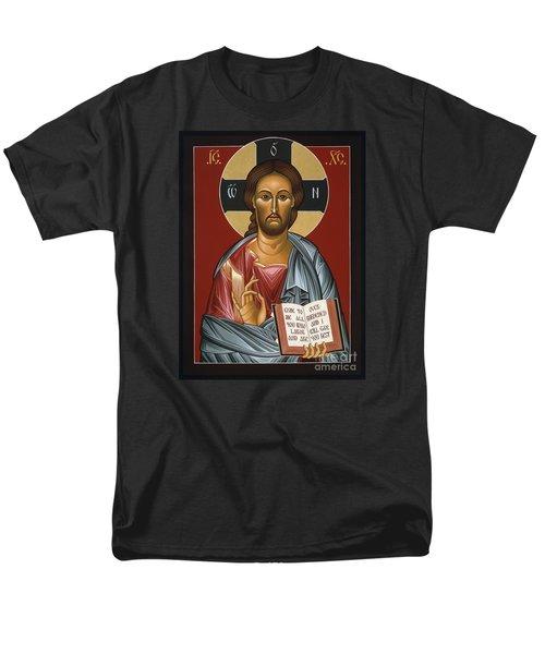 Christ All Merciful 022 Men's T-Shirt  (Regular Fit)