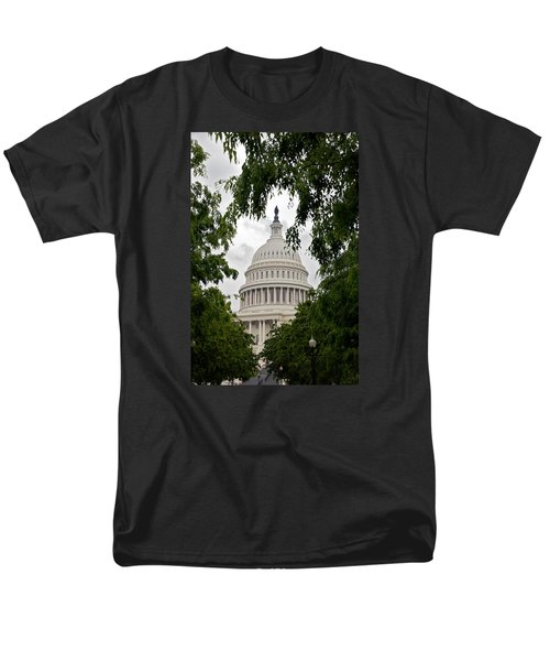 Clouds Over The Capitol Men's T-Shirt  (Regular Fit) by Lawrence Boothby