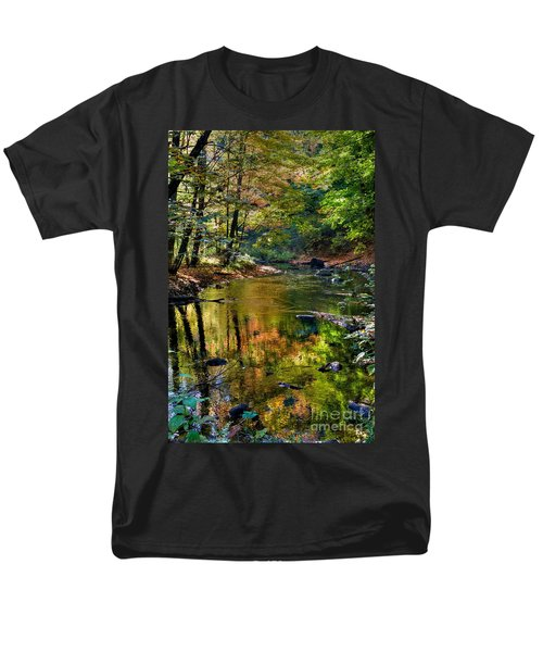 Men's T-Shirt  (Regular Fit) featuring the photograph Color Creek by Robert Pearson