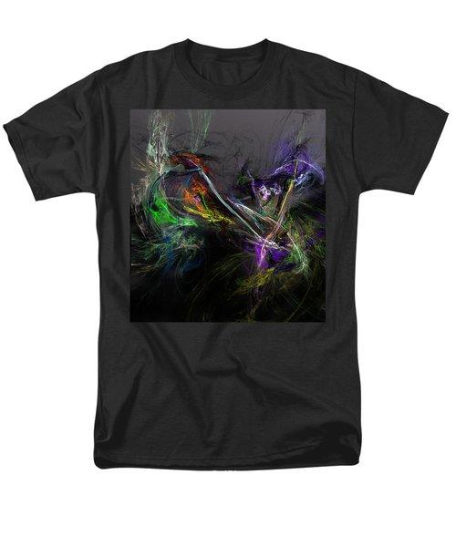Men's T-Shirt  (Regular Fit) featuring the digital art Conflict by David Lane