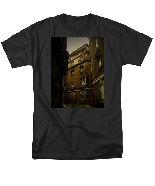 Men's T-Shirt  (Regular Fit) featuring the photograph Crime Alley by Salman Ravish