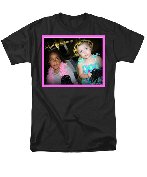 Men's T-Shirt  (Regular Fit) featuring the photograph Dress-up Time by Bobbee Rickard