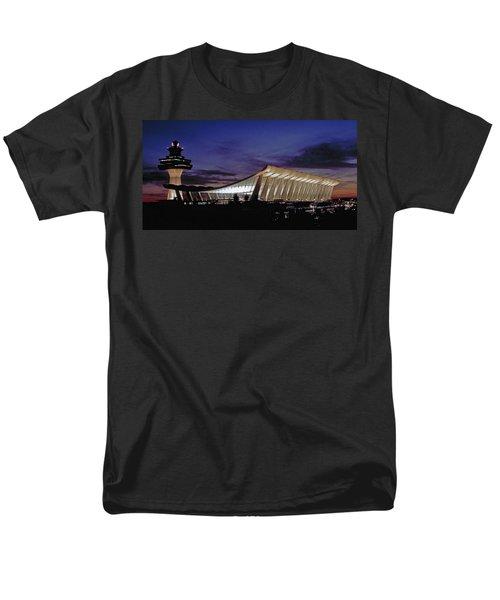 Dulles International Men's T-Shirt  (Regular Fit) by Greg Reed