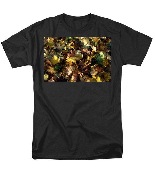 Fallen Leaves Men's T-Shirt  (Regular Fit) by Ron Harpham