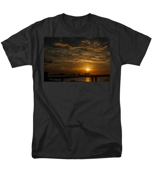 Men's T-Shirt  (Regular Fit) featuring the photograph Florida Sunset by Jane Luxton