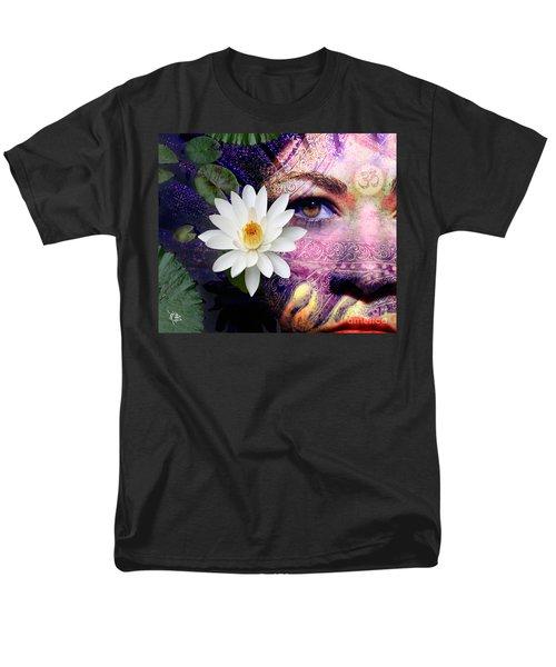 Full Moon Lakshmi Men's T-Shirt  (Regular Fit) by Christopher Beikmann