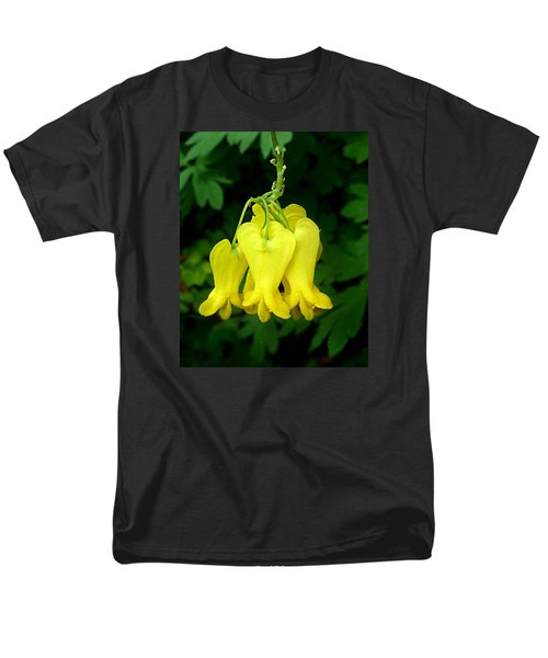 Men's T-Shirt  (Regular Fit) featuring the photograph Golden Tears Vine by William Tanneberger
