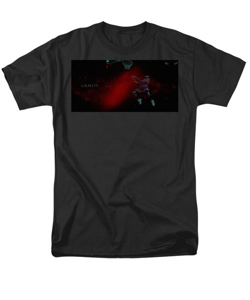 Men's T-Shirt  (Regular Fit) featuring the mixed media Gravity by Brian Reaves