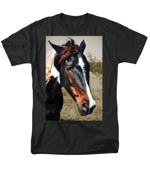 Men's T-Shirt  (Regular Fit) featuring the photograph Horse by Savannah Gibbs