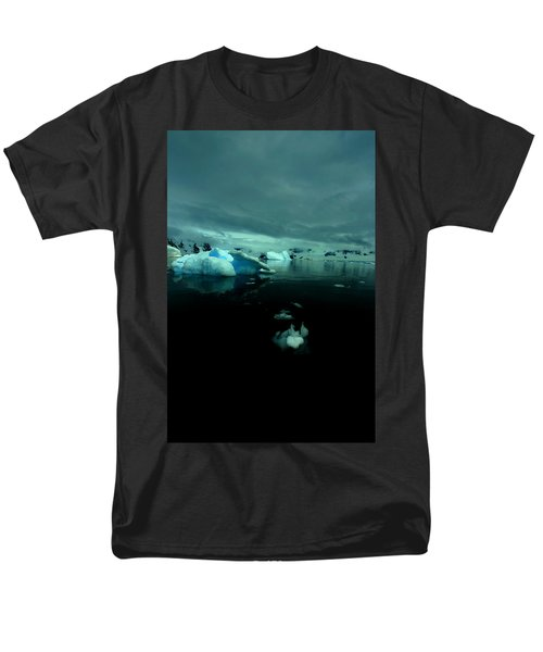 Men's T-Shirt  (Regular Fit) featuring the photograph Icebergs by Amanda Stadther