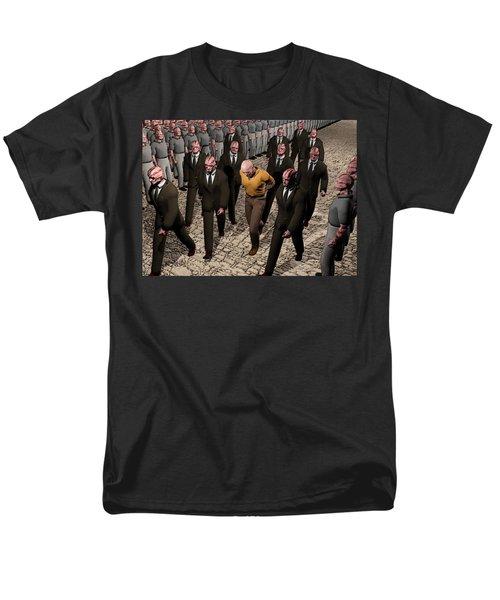 Last March Of The Non Conformist Men's T-Shirt  (Regular Fit) by John Alexander