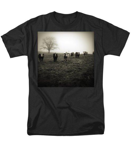 Livestock Men's T-Shirt  (Regular Fit) by Les Cunliffe