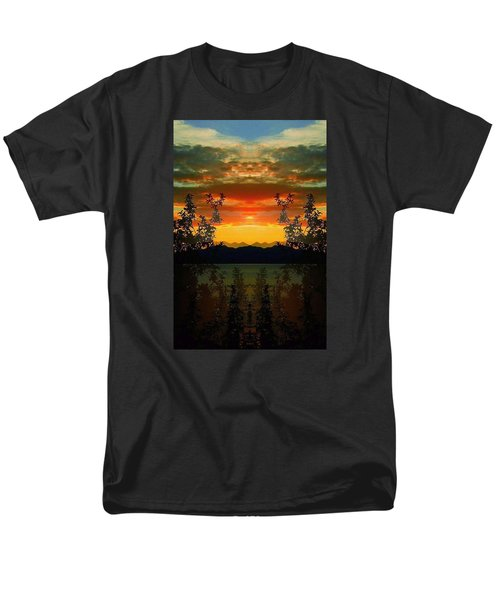 Men's T-Shirt  (Regular Fit) featuring the photograph Marsh Lake - Yukon by Juergen Weiss