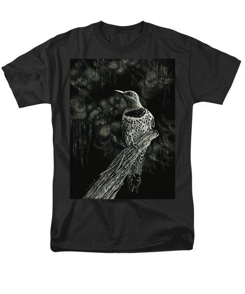 Northern Flicker Men's T-Shirt  (Regular Fit) by Sandra LaFaut