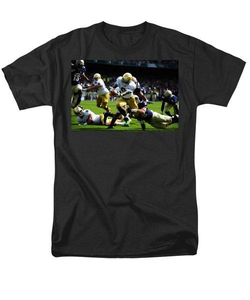 Notre Dame Versus Navy Men's T-Shirt  (Regular Fit) by Mountain Dreams