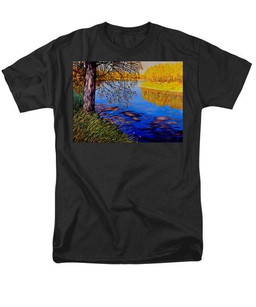October Afternoon Men's T-Shirt  (Regular Fit) by Sher Nasser