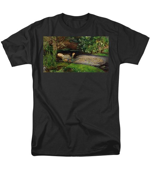 Ophelia Men's T-Shirt  (Regular Fit) by John Everett Millais