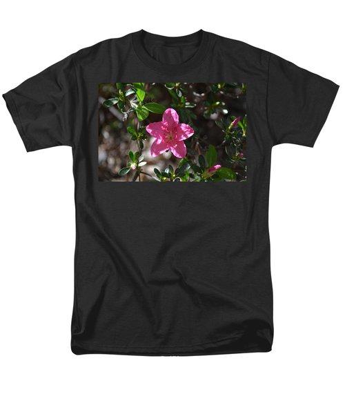 Men's T-Shirt  (Regular Fit) featuring the photograph Pink Flower by Tara Potts