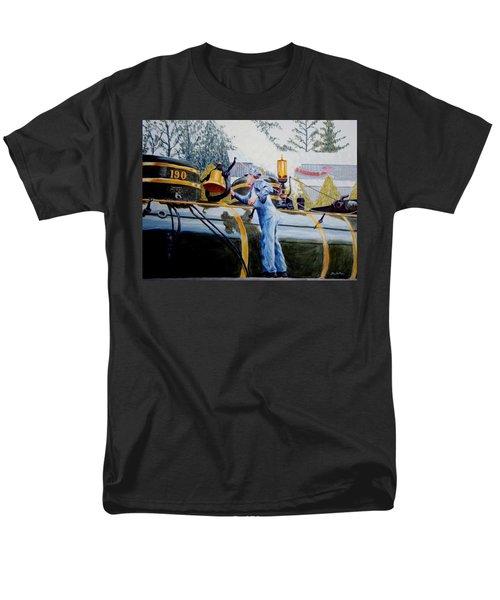Reflecting On Tweetsie Men's T-Shirt  (Regular Fit) by Stacy C Bottoms