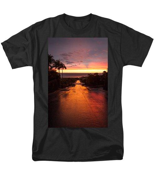 Sunset After Rain Men's T-Shirt  (Regular Fit) by Denise Bird